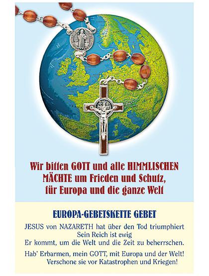 Europa Gebetskette