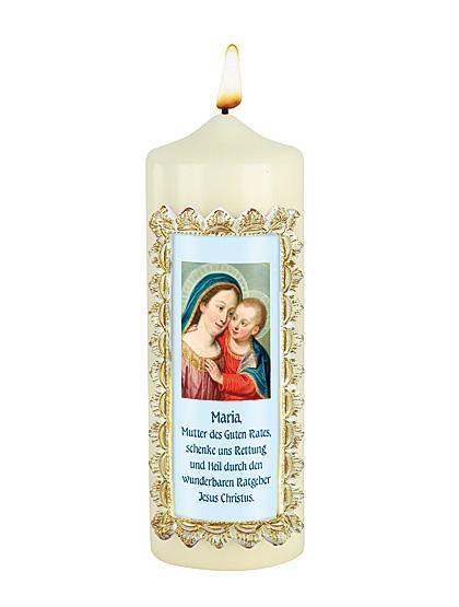 Maria vom guten Rat - Kerze