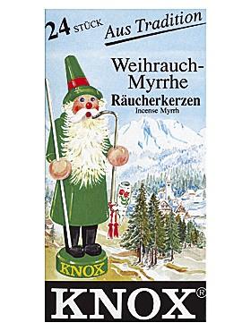 Räucherkerzen Weihrauch/Myrrhe