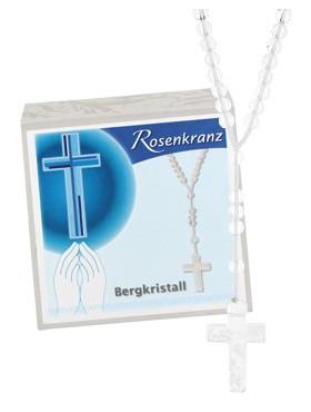 Bergkristall-Rosenkranz