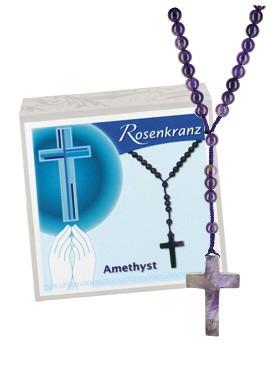 Amethyst-Rosenkranz