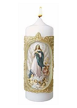Maria Himmelfahrt-Kerze