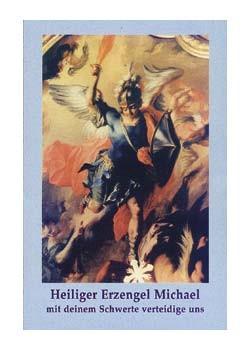 Heiliger Erzengel Michael-Gebetszettel