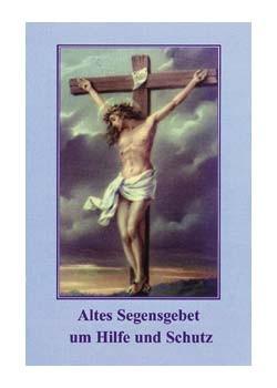 Altes Segensgebet-Gebetszettel