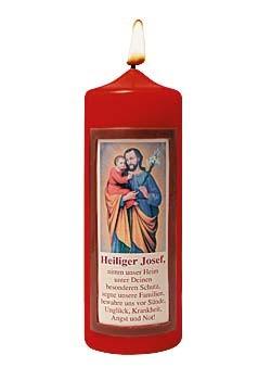 Heilige Josef-Kerze