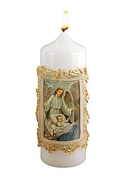 Heilige Schutzengel-Kerze