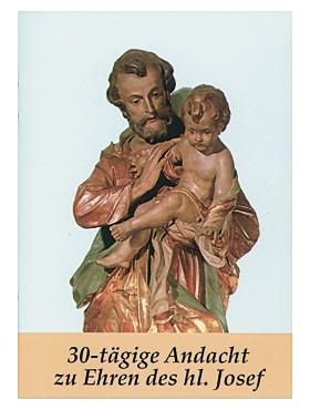 30-tägige Andacht zu Ehren des heiligen Josef