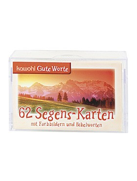 62 Segens-Karten