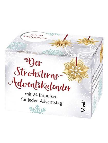 Strohstern-Adventkalender
