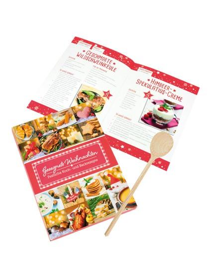Weihnachts-Set - Rezeptbuch & Kochlöffel!