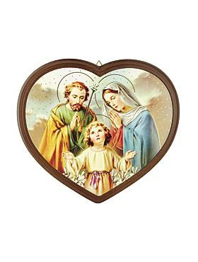 Heilige-Familie-Bild Herzform