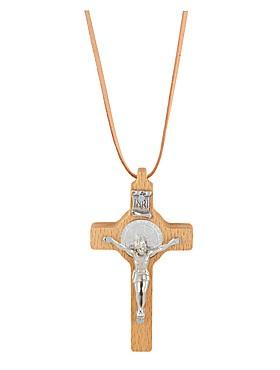 Benediktus-Kreuz aus Holz