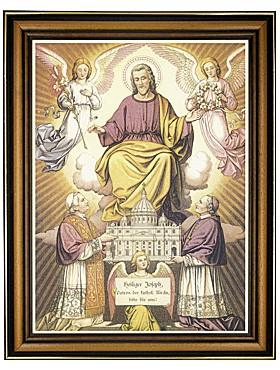 Heiliger Josef Schutzpatron-Bild