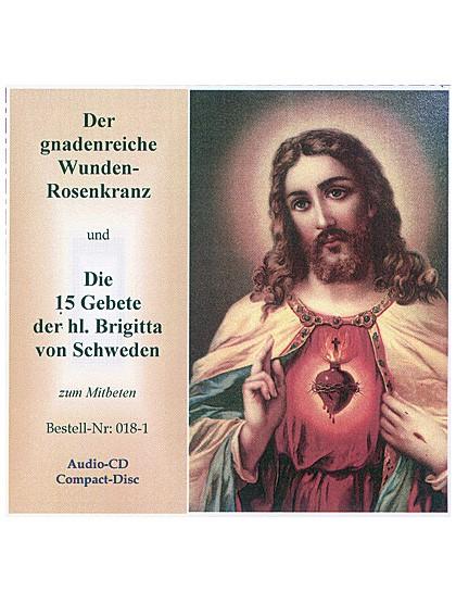 Der gnadenreiche Wunden Rosenkranz - CD
