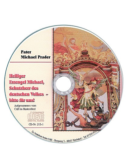 Heiliger Erzengel Michael - CD