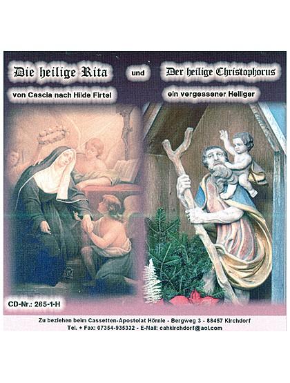 Hl. Christophorus und hl. Rita - CD