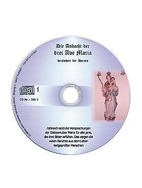 Die Andacht der Drei Ave Maria – CD