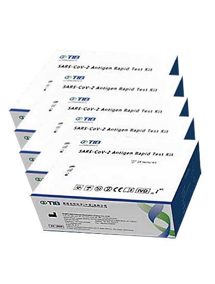 SARS-CoV-2 - Antigen Speichel Schnelltest - 5 Stück