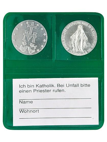 "Gott schütze Dich-Etui ""Wundertätige Medaille"""