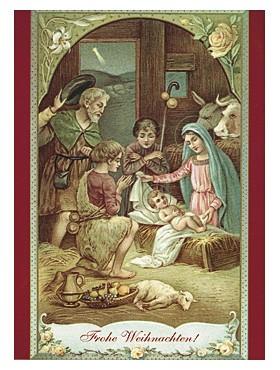 heilige Familienweihnachtskarten