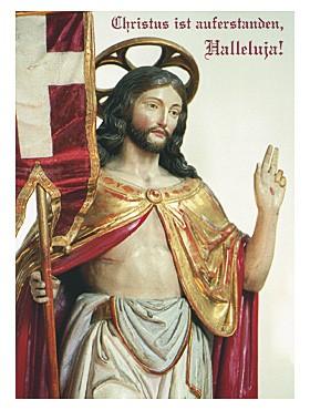 Christus ist auferstanden-Karte