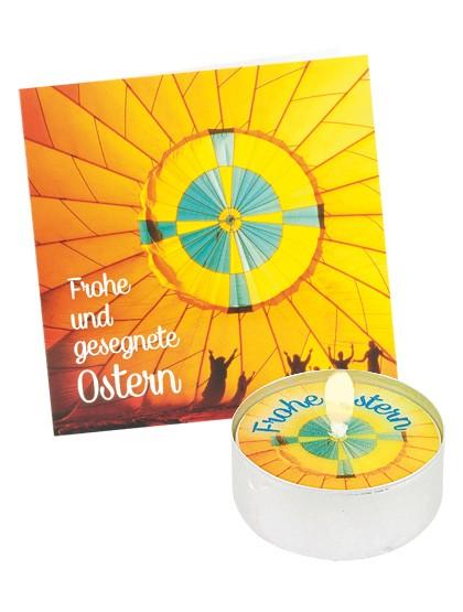 """""""Frohe und gesegnete Ostern!""""- Grußkarte"""