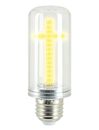 Glühbirne mit LED-Kreuz