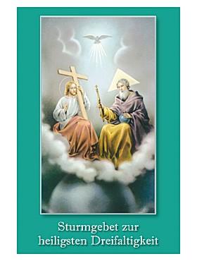 Dreifaltigkeit-Gebetszettel