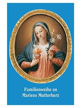 Familienweihe-Gebetszettel