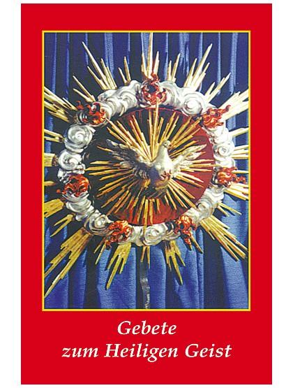 Heiliger Geist - Gebetszettel