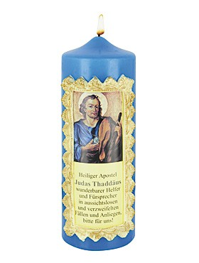 Heiliger Judas Thaddäus-Kerze