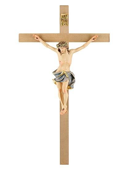 Kreuz aus Lindenholz - handgeschnitzt