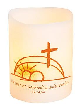 LED-Licht Ostern mit Bibelzitat