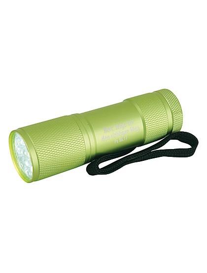 LED-Taschenlampe aus Aluminium