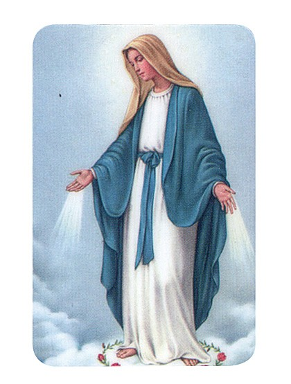 Gottesmutter Maria - Magnettäfelchen