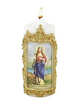 Heilige Philomena-Kerze