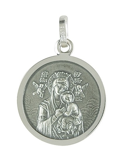 Madonna mit dem Jesuskind - Medaille