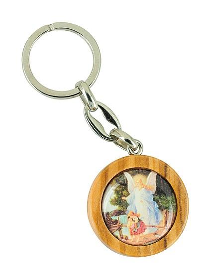 Schlüsselanhänger aus Olivenholz