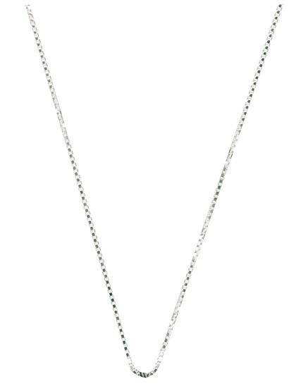 Venezianische Silberkette - 45 cm
