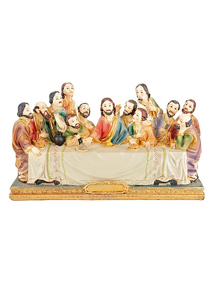 Das letzte Abendmahl - Figurengruppe