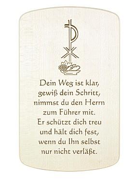 Holztafel Erntedank