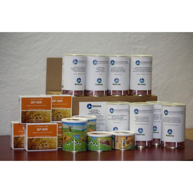 30 Tage Paket vegetarisch