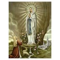 Lourdes Madonna-Bild
