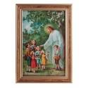 Jesus mit den Kindern-Bild