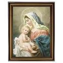 Maria mit dem Kinde Jesu Haussegen-Bild