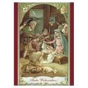 Weihnachtskarte Heilige Familie