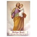 Heiliger Josef-Gebetszettel