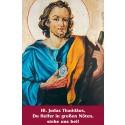 Litanei Heiliger Judas-Gebetszettel