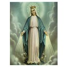 Heilige Muttergottes-Bild