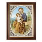 Josef mit Jesukind am Schoß-Bild